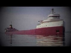 """The Wreck of the Edmund Fitzgerald"" - Gordon Lightfoot  http://www.youtube.com/watch?v=9vST6hVRj2A&feature=related"