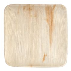 """Eco-gecko Sustainable 10"""" Square Palm Leaf Plate 100 / Case.  $33/case if buy 3 or more"""