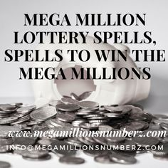 Lotto Spells – Especially planned lotto spells, works on any lotto, together with Uber Millions, Powerball, and all gigantic big stake illustrations.