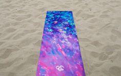 Low Tide Yoga Mat / Yoga Mats / Yoga Mat / Yoga by YogaZeal