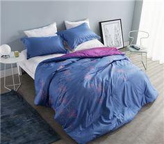 Designer Flowered Soft Comforter - Twin XL Dorm Bedding