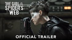 """A tattooed Claire Foy is delivering vengeance as Lisbeth Salander in the first trailer for Sony's """"The Girl in the Spider's Web. New Movies, Good Movies, Movies Online, Chun Li, New Trailers, Movie Trailers, Vicky Krieps, Teaser, Hollywood Movie Trailer"""