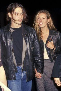 Kate Moss / Johnny Depp / 90's   ✿ Pinterest: ℓuxulƗrɑv | IG:  @ℓuxuriousuℓƗrɑvıoℓeƗ LUXURIOUSULTRAVIOLET.com ✿