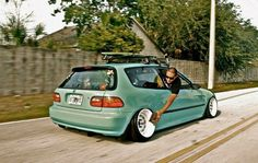#Honda #Civic_Eg #Slammed #Camber #DiamondSteelies