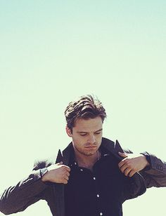 Sebastian Stan AKA the Winter Soldier!! <3