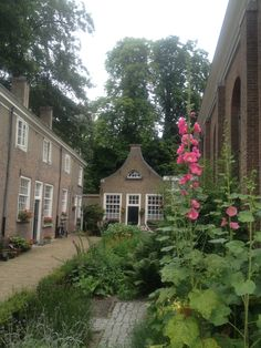 Begijnhof in Breda, the Netherlands, where the nuns used to live.
