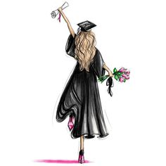 Art And Illustration, Animal Illustrations, Illustrations Posters, Graduation Pictures, Graduation Gifts, Graduation Ideas, Graduation Stickers, Graduation Quotes, Graduation Drawing