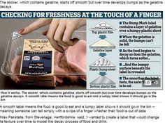 英女發明新標籤 凸顯食物鮮度 | 國際焦點 | 中央社即時新聞 CNA NEWS
