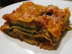 Luscious Layers of Veggie Lasagna