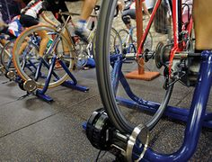 Bike Trainer workouts for every triathlon distance. Helpful.