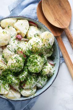 Potato Dishes, Potato Recipes, Side Dish Recipes, Side Dishes, Tasty Dishes, Summer Recipes, Food Inspiration, Broccoli, Grilling