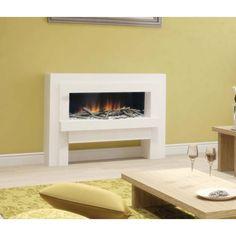 Fire place - Linea Suite: camino elettrico LED completo di struttura a basso consumo energetico