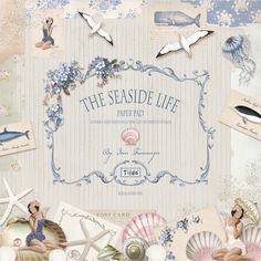 Panduro Hobby - Tilda paper stack Seaside life
