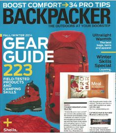 Strawberry Bliss Meal Bar In BACKPACKER Magazine Fall Gear Guide | PROBAR in the Media