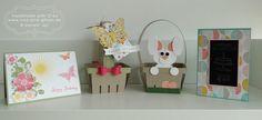 Rosa, pink & alles was glitzert: Stampin' Up! Workshop zu Ostern bei mir zuhause in Landshut - Teil 1