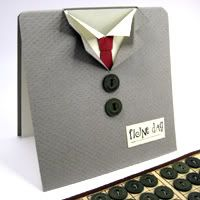 Template shirt and tie