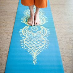 Gallery Collection Printed Yoga Mat | Hugger Mugger