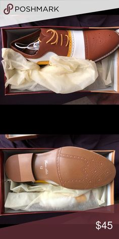 8cac326ed50 Shoes Men s Spectator s Three Tones Men s Shoes. Leather Uppers and Man  Made Soles Shoes Oxfords   Derbys