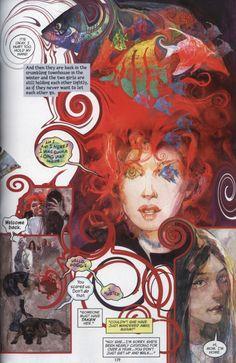 The Sandman: Endless Nights. Delirium - Going Inside (A) Neil Gaiman. Delirium Sandman, Death Sandman, Nocturne, Endless Night, Bd Comics, Neil Gaiman, Art Studies, Pics Art, Comic Covers