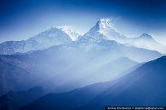 Annapurna mountains in sunrise light, Nepal - Flickr - Photo Sharing!