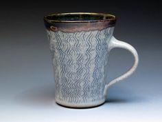 Julie Ayton Stoneware Mug Studio Pottery Mug Hand by MugsMostly