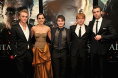Draco. Hermione. Harry. Ron. Sexy Stranger, oh... I mean Neville.