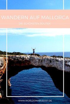 Wandern auf Mallorca: Wir stellen dir 3 der schönsten Wanderrouten (inklusive Schwierigkeitsgrad, Dauer und Startpunkt) auf Mallorca vor. Diese Wanderungen sind abwechslungsreich, auch für Untrainierte machbar und zeigen Mallorca von seiner schönsten Seite! Und das coole an unseren Reisetipps für deinen Mallorca Urlaub: Jede Wanderung führt an mindestens einer traumhaften Bucht vorbei. So kann man sich direkt abkühlen!