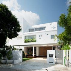 'The Hole House' by Farm, in Singapore