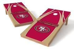 San Francisco 49ers Single Cornhole Board - The Edge