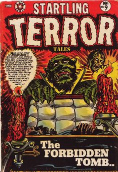 Comic Book Cover For Startling Terror Tales #9