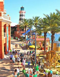 Harborwalk Village in Destin, Florida. Andrew and I absolutely adore this place!