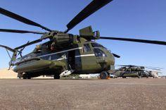 "United States Marine Corps, Marine Helicopter Squadron One (HMX-1) ""Nighthawks"" - Sikorsky VH-53D Sea Stallions at KEFD PHOTO: Christopher Ebdon, AV8PIX"