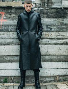 #coatcrush leather coat
