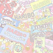 素材の画像(プリ画像) Flowery Wallpaper, Cute Anime Wallpaper, Aesthetic Pastel Wallpaper, Trendy Wallpaper, Cute Wallpaper Backgrounds, Cartoon Wallpaper, Cute Wallpapers, Aesthetic Wallpapers, Aesthetic Themes