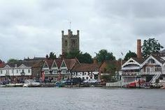 Henley-on-Thames, England-Used to live there and walk along the riverbanks with a stroller when my children were young.  Brings back lots of really fond memories.