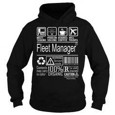 Fleet Manager Job Title - Multitasking