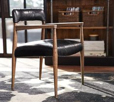 Henry Leather Desk Chair | Pottery Barn