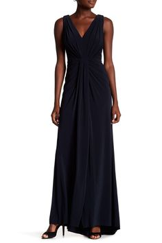 Matte Jersey Gown by Vera Wang on @nordstrom_rack