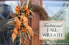 Fall Wreath   Confessions of a Serial Do-it-Yourselfer