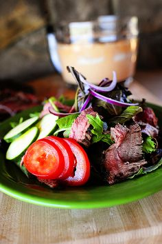 Chipotle Steak Salad - from Ree Drummond (the Pioneer Woman)