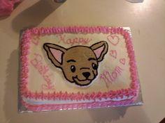 Chihuahua Cake by SpragueCake.deviantart.com on @deviantART