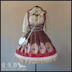 Vestido estilo Lolita <3