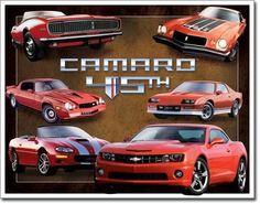 Chevy Camaro 45th Anniversary Sign