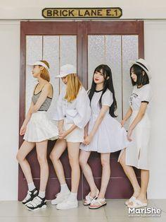 Marishe Korean Fashion Similar Look I Pin By Aki Warinda Dearzuffy Fashion Fashion In, Fashion Couple, Fashion Group, Korea Fashion, Fashion 2017, Cute Fashion, Asian Fashion, Vintage Fashion, Korean Best Friends
