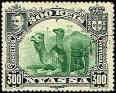 Nyassa 38 Stamp Camels Stamp AF NY 38-1 USED