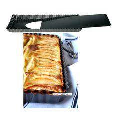 Moule à tarte rectangulaire à fond amovible