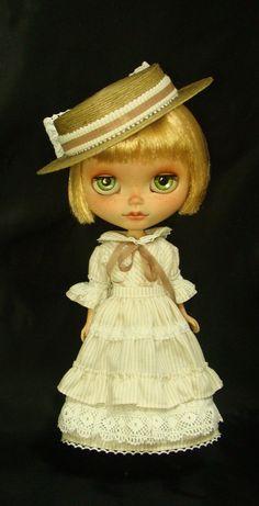 Natural Kei - OOAK Custom Doll Blythe Custom By R. Szani Outfit by Wivi Szani ( Wilma Garcia Szaniecki) SOLD Owner: @olinthom