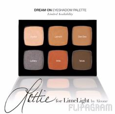 Dream on by Lottie Stannard collabed with Limelight to create this beautiful warm palette. Great fall colors perfect neutral palette