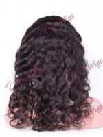 Indian Virgin Hair Full Lace Wig Tight Body Wave VFLW321