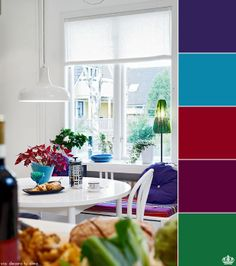 Color dinning room